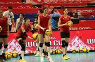 疑似中国女排世界杯首场比赛,对阵韩国女排首发阵容曝光