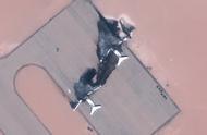 太可惜了!三架大型飞机在利比亚被摧毁,大火之后被烧得漆黑一片