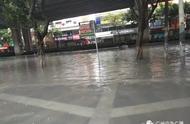 龙舟水发威!广州今早大雨,两区停课,多条道路水浸,网友:可能要撑船翻工