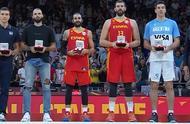 男篮世界杯最佳阵容出炉,冠军西班牙占两人,卢比奥当选双料MVP
