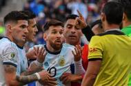 """梅西因抨击南美足联""""腐败""""被禁赛3个月罚款5万美元"""