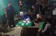 普洱澜沧:巡特警大队捣毁一个赌博窝点 抓获10名涉嫌赌博人员