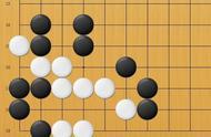 黑先,如果不能弈出妙手,只能看着白棋嚣张了