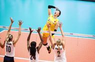 中美决战!跨越巅峰!中国女排3比0横扫美国气势如虹
