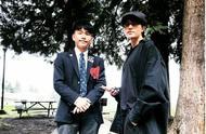 陈坤晒与儿子校服照,有点当年古惑仔的意思