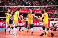 Chinese women's volleyball wins Japanese thing to run, chinese male platoon is defeated by Japan no