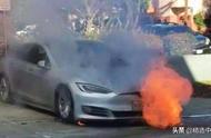 """特斯拉model 3突发自燃爆炸,说好的换了电池就""""戒""""自燃呢?"""