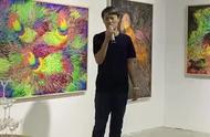 十年33幅画展出,免费开放至8月30日,蓝充首次深圳个展举办