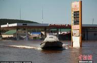 俄媒:伊尔库茨克州洪水或摧毁贝加尔湖生态系统