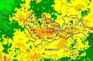 """深圳暴雨!台风""""韦帕""""或今晚正面袭击广东,深航取消全国25个港航班"""