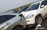 滨州男子高速上车辆突然熄火致三连撞 惊险过后维权遇难题