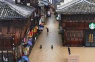 """急急急!台风""""利奇马""""使台州府城被洪水围困"""