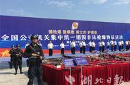全国公安机关集中销毁一批枪爆物品 武汉为主会场