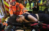 用美国国旗旗杆殴打付国豪 19岁男子被警方逮捕