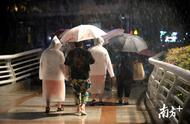 """受""""白鹿""""环流影响广州多区普降大雨,暴雨三级预警启动"""