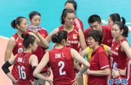 """女排世界杯""""开门红""""!中国队3比0战胜韩国队"""