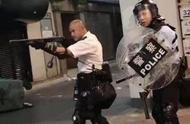 """港警""""光头刘Sir"""":被暴徒打伤仍未痊愈,称同事都是无名英雄"""