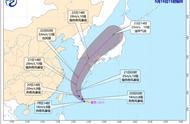 今年第17号台风塔巴生成!将联手冷空气给我国东部海域制造大风