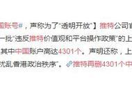 """推特再删4301个中国账号 声称为了""""透明开放"""""""