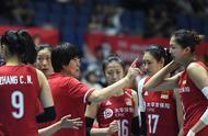 排球——女排世界杯:中国队对阵巴西队