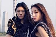 奚梦瑶和迪丽热巴出LV大片,超模和明星首同框,谁更胜一筹?