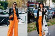温暖又活力的橙色,穿上它你就是街头的最美girl了