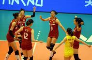 奥资赛,中国女排首发阵容,这六人相当稳,她俩争夺最后一个席位