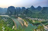 漓江日落最美的观赏地,这里不收门票,可是很多人却找不到
