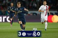 太差了!皇马欧冠被巴黎0-3暴揍,而巴黎3大主力还1个都没上