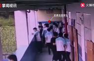 广西中学打架,一学生竟将同学扔下四楼