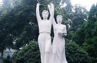 校园雕塑,当代大学生的快乐源泉!