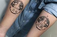 跟你们说说,达摩蛋纹身的故事