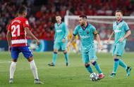 梅西完成新赛季西甲首秀,巴萨0-2不敌升班马格拉纳达