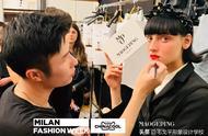 毛戈平学校继纽约时装周后,再携高定中国妆亮相米兰时装周