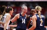 2小时30分鏖战,日本女排2:3惜败美国女排,将美国女排累惨