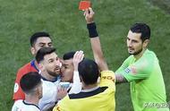 梅西被南美足协禁赛三个月外加5万美元罚款