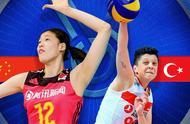 朱婷张常宁惊艳全场,中国女排3-0横扫土耳其,第一时间拿到门票