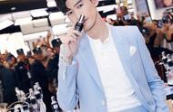 演员张翰倾情亮相Lancôme兰蔻昆明百盛购物中心超级品牌周活动