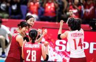 今夜为日本女排点赞!险些掀翻美国队,还助中国女排站稳第一名
