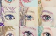 这画风太迷人了,每一个小姐姐的眼睛都美得让人怦然心动