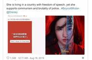 因支持香港警察,刘亦菲《花木兰》被外网极端分子抵制