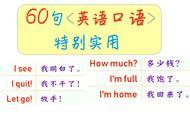 旅游英语常用语有哪些