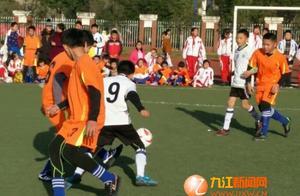 兴中学校首届校园足球年级联赛隆重举行