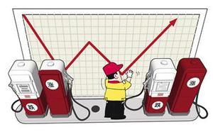 """明天成品油价将再创新高 年末""""三连涨""""或落实"""