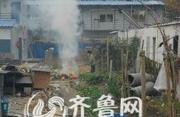 潍坊鸢都新城物业焚烧垃圾致浓烟四起 业主担惊受怕