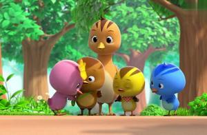 小鸡萌队2:萌鸡们做拉拉队给小朋友加油!