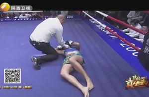 KO女王龚艳丽打哭泰国毒花,龚艳丽:不想KO对手的拳手不是好拳手