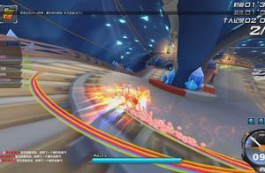 QQ飞车史上第一辆被火焰无死角一直燃烧的车甩爆天甲十条街!