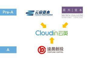 CloudIn 云英完成 7000 万元 A 轮融资,由达晨创投领投