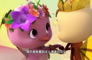 朵朵不仅长出了翅膀,变成了小蝴蝶,还成为了蝴蝶王国的公主!